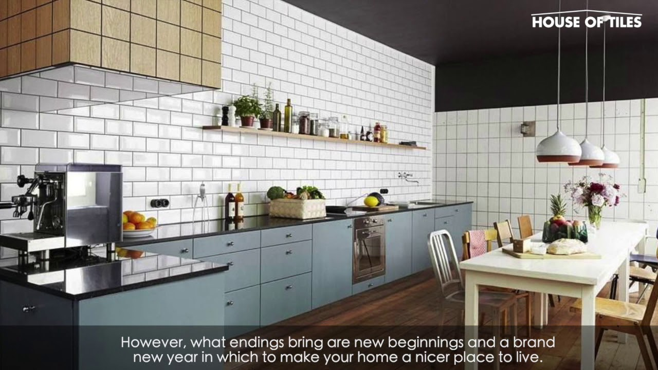 Kitchen Wall Tile Trends For 2020 From House Of Tiles Ireland Youtube