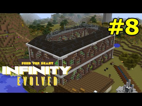 ftog S3E8 - Optimal Immersive Engineering Water Weels - FTB Infinity Evolved (Expert Mode)