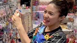 Baby Shima jalan jalan di mall jakarta sambil belajar bahasa medan