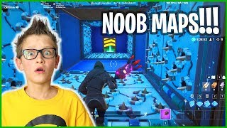 PLAYING CREATIVE MAPS FOR NOOBS!!!