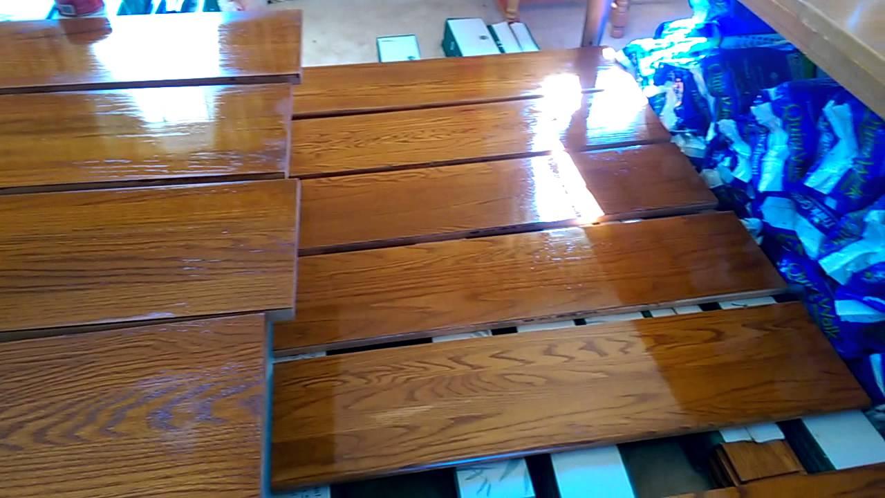 Como remodelar escaleras en madera youtube - Escalera de madera de pintor ...