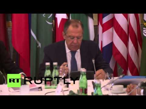 Austria: Syria peace talks commence in Vienna