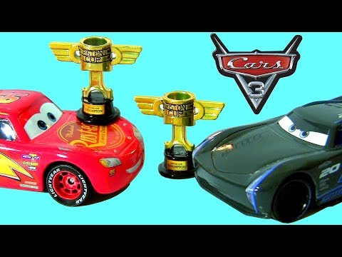 Cars Jackson Storm With Piston Cup Trophy Cars Lightning - Piston car show trophies