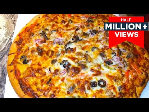 How to make a Perfect Chicken Pizza | Quick & Easy Pizza Recipe