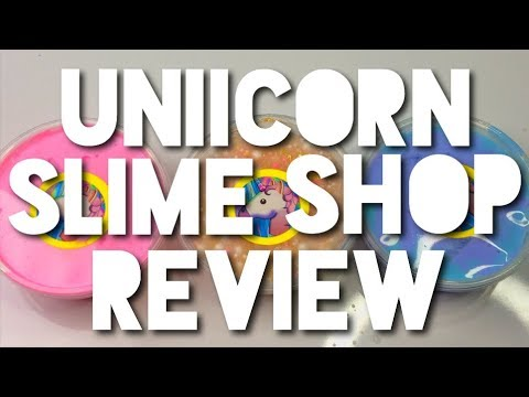 100% HONEST FAMOUS SLIME SHOP REVIEW// UNIICORNSLIMESHOP REVIEW