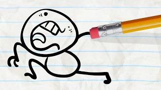hand off pencilmation cartoons