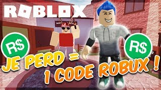 I'M LOSING 1 ROBUX CODE! - Roblox Murder Mystery 2