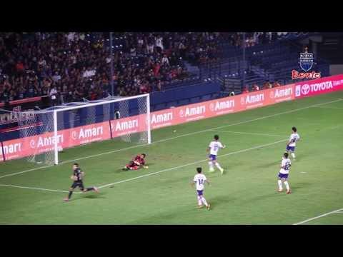 บรรยากาศการแข่งขันฟุตบอลโตโยต้า ไทยพรีเมียร์ลีก 2014 บุรีรัมย์ ยูไนเต็ด 3-0 สงขลา ยูไนเต็ด