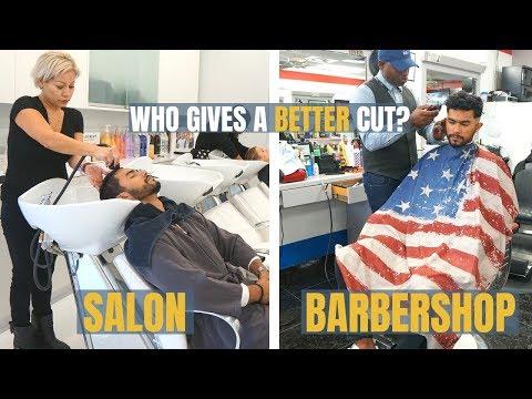 Barbershop VS Salon | Who Gives A Better Haircut?