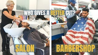 Barbershop VS Salon | Who Gives A Better Haircut?