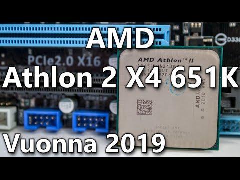 AMD Athlon 2 X4 651K - Llano - In 2020 [ FM1 ]