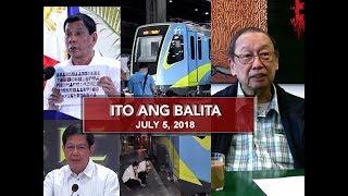 UNTV: Ito Ang Balita (July 5, 2018)