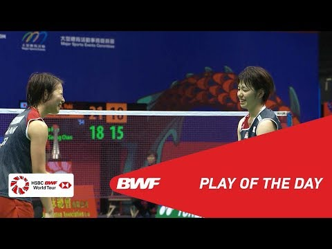 Play Of The Day | YONEX-SUNRISE HONG KONG OPEN 2018 F | BWF 2018