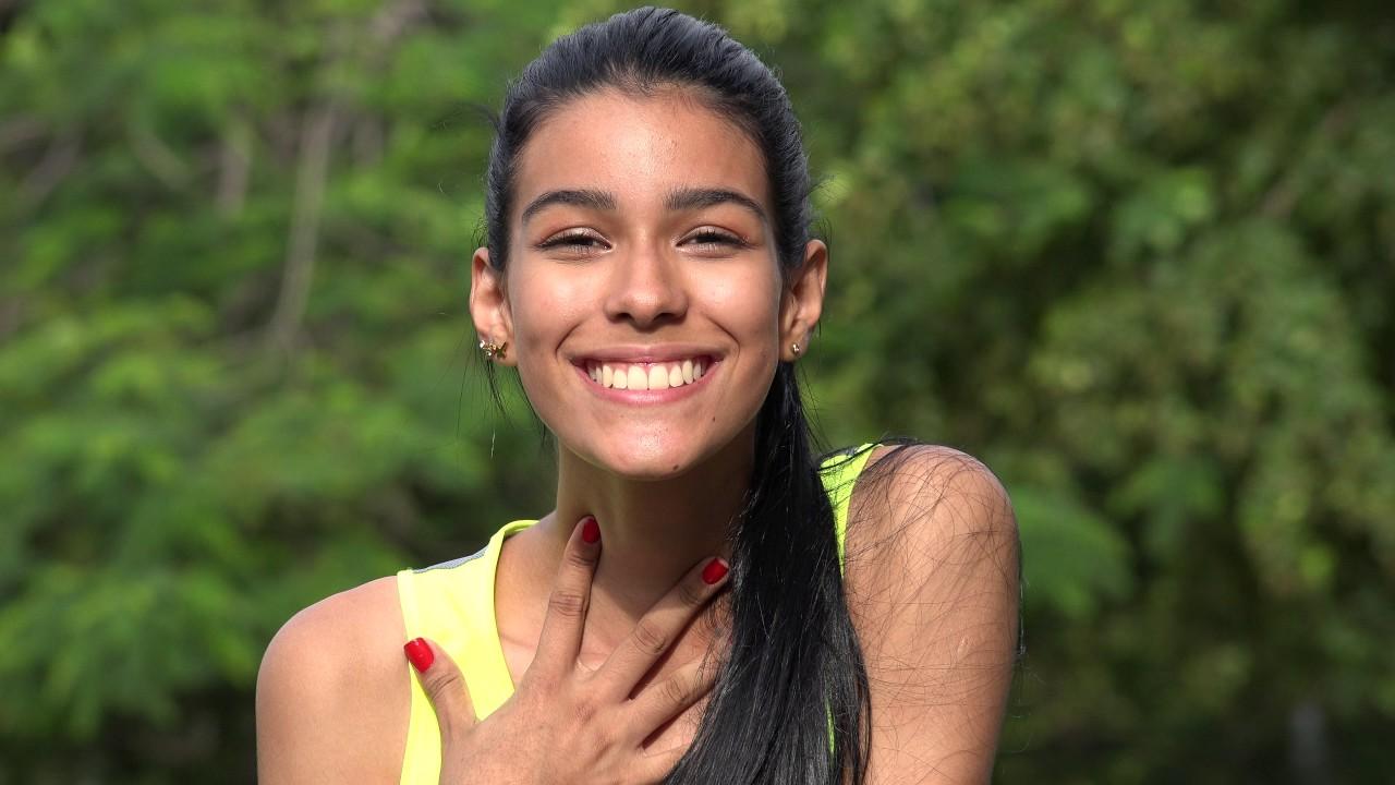 Adorable Cute Teen Girl