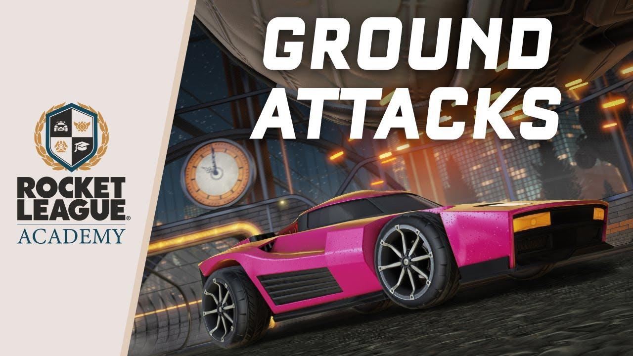 Rocket League® - Ground Attacks
