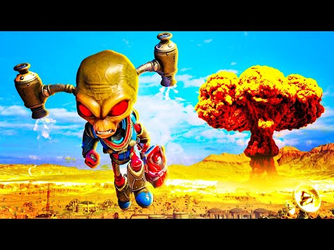 DESTROY ALL HUMANS is Back!  Destroy All Humans Gameplay Part 1