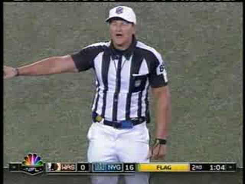 Ed Hochuli Nfl Referee Messup Youtube