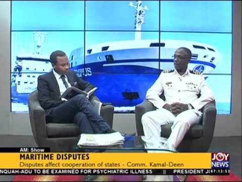 Maritime disputes - AM Show on Joy News (15-3-16)