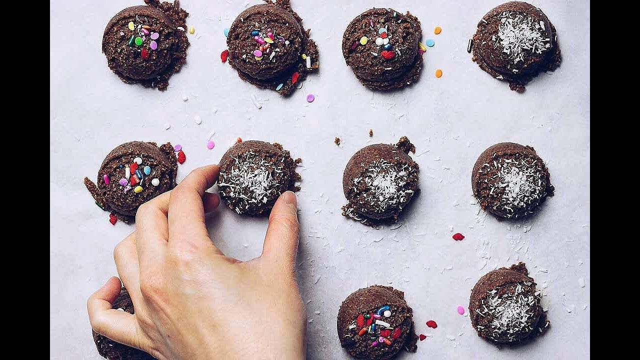 Paleo No Bake Christmas Cookies Gluten Free Easy I Heart Umami