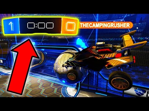 WORLD RECORD COMEBACK VS PROS IN ROCKET LEAGUE!!