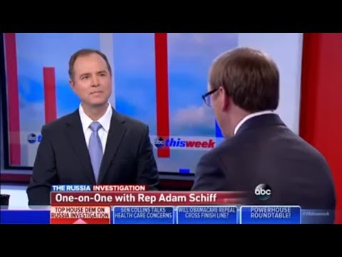 Rep. Adam Schiff Discusses Latest Don Jr. Revelations on ABC This Week