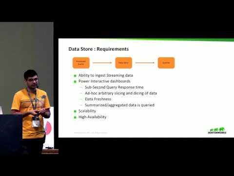 Interactive real-time dashboards on data streams: Nishant Bangarwa, Hortonworks