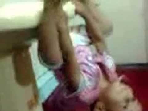 Hamza hanging like Spiderman