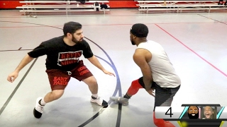 1 VS 1 AGAINST THE BIGGEST SNEAKERHEAD QIAS! BASKETBALL SHOWDOWN!