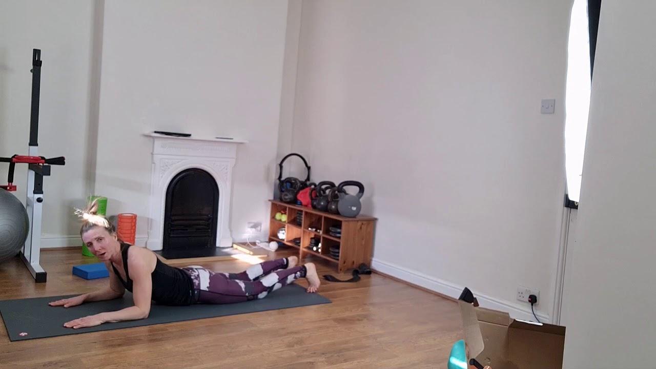 mat pilates improver to intermediate