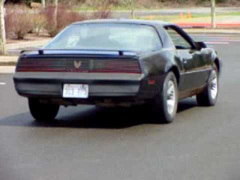 1982 pontiac firebird trans am 5 0 litre 4 speed sold. Black Bedroom Furniture Sets. Home Design Ideas