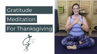 Gratitude Meditation: Quick Thanksgiving Meditation