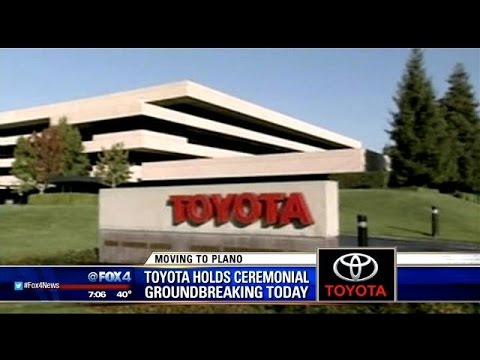 Toyota to break ground on Plano headquarters
