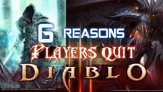 6 Reasons Players Quit Diablo 2 and Diablo 3