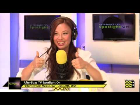 Malese Jow   AfterBuzz TV's The Concert Experience