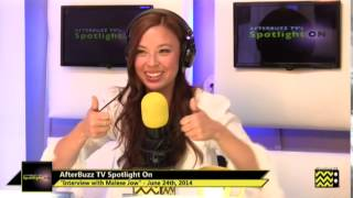 Malese Jow Interview | Afterbuzz Tv's The Concert Experience