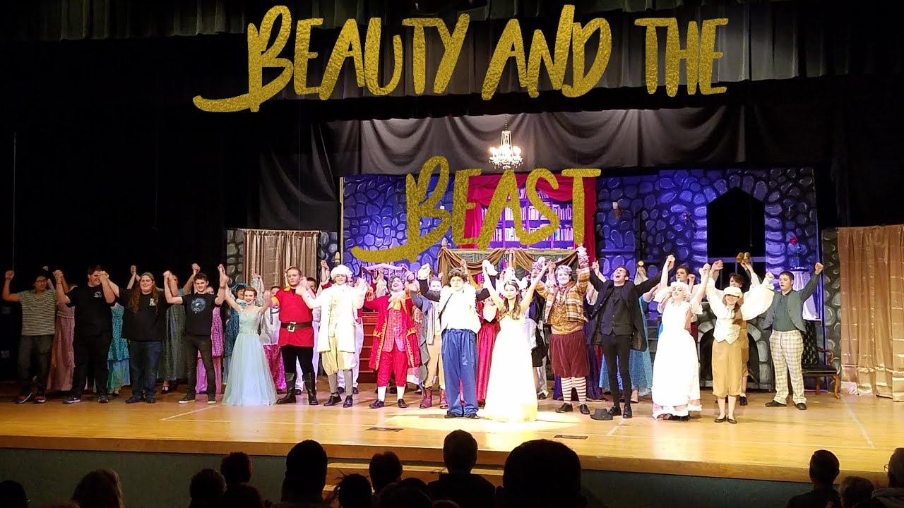Powell High School - Beauty and The Beast 2018 - YouTube