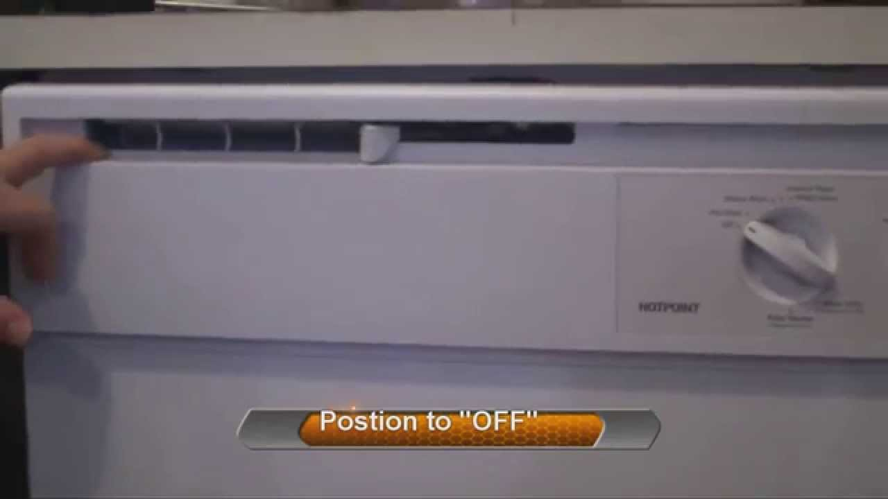 Ge Dishwasher Filter How To Clean Dishwasher Door Vent Hotpoint Ge Youtube