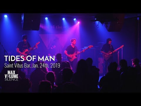 TIDES OF MAN live at Saint Vitus Bar, Jn. 24th, 2019 (FULL SET) Mp3