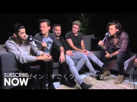 One Direction & Scott Mills At A Secret Location Part 2 和訳