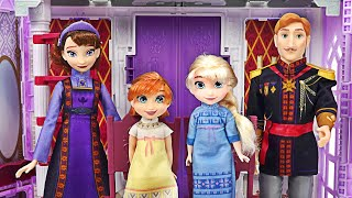 Come to the Frozen Arendelle Palace where the Elsa & Anna family is! Let's have a party