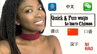 5 Quick & Fun ways to learn Chinese | How did i learn? 中文,Tips and Tricks