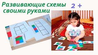 Развивающие Схемы для Детей от 2 лет: Игрушки своими руками