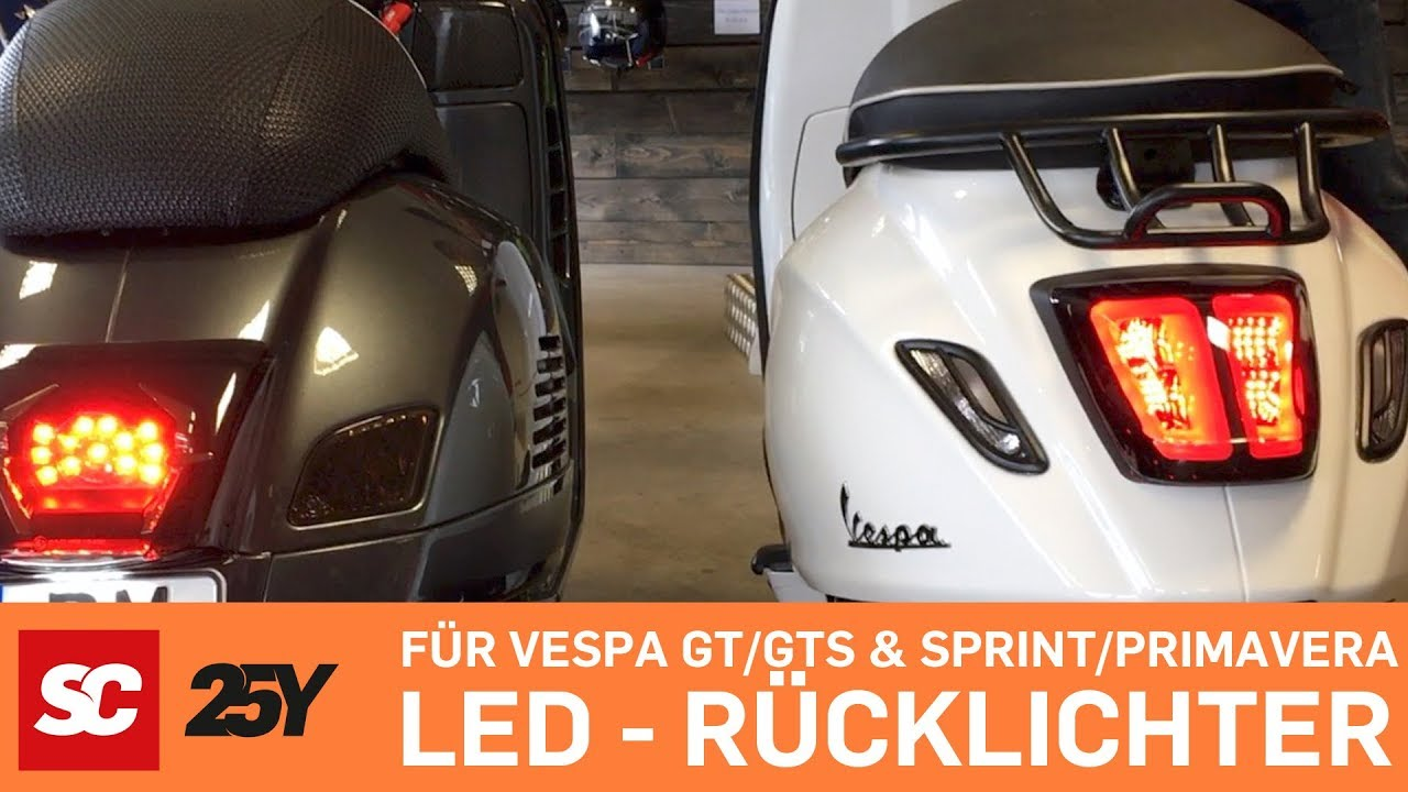 Nostra Primavera Vespa Hd Sprint Corse Rücklicht Gtsamp; Moto MVSpUz