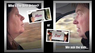 Driver Behaviour Experiment: Who's the Best Road Trip Driver? Kids Tell All
