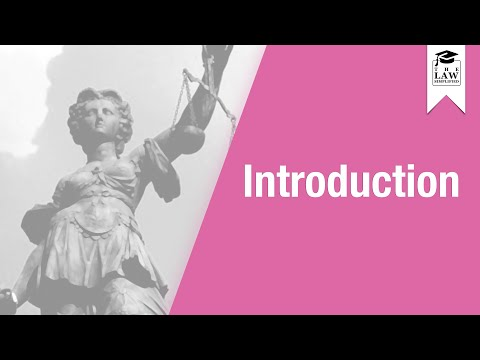 Conflict of Laws - Introduction