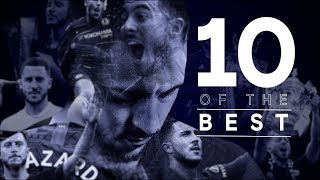 Eden Hazard | 10 Of His Best Goals For Chelsea!