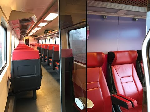 BRUGES to  AMSTERDAM on LOCAL TRAINLINES (DEC 2016)