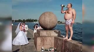 Приколы на свадьбе. Смешные свадебные фото