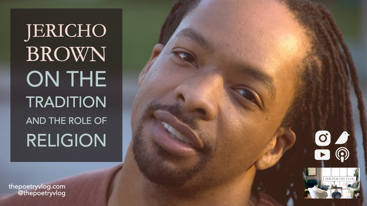 #Poet Jericho Brown on Religion, Flowers, and Insight through Writing