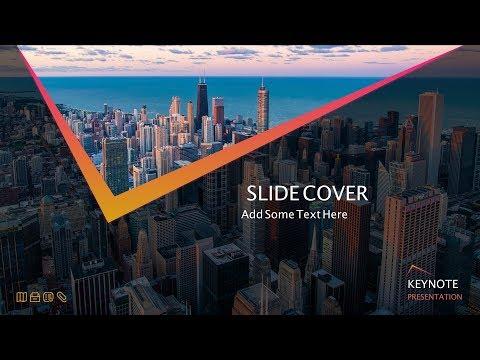 #067 Apple Keynote Tutorial: Design Best Title Slide In Apple MacOS Keynote 9 Title Intro Animation